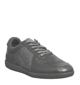 Ask the Missus Gourmet Sneaker GREY LEATHER SUEDE
