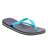 Havaianas Brasil Mix NAVY BLUE TURQUOISE
