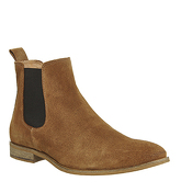 Ask the Missus Endeavour Chelsea Boot BEIGE SUEDE