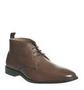 Office Exit Chukka Boot TAN LEATHER