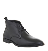 Office Exit Chukka Boot BLACK LEATHER