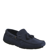 Office Forward Driver NAVY SUEDE