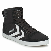 Hummel  SLIMMER STADIL HIGH  men's Shoes (High-top Trainers) in Black