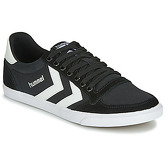 Hummel  SLIMMER STADIL LOW  men's Shoes (Trainers) in Black