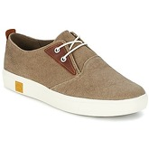 Timberland  AMHERST CANVAS PTO  men's Shoes (Trainers) in Brown