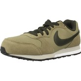 Nike  MD RUNNER 2 (GS)  men's Shoes (Trainers) in Green