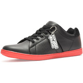 Reservoir Shoes  Sneakers with lace BASIL Black / Red Man Perm  men's Shoes (Trainers) in Black