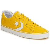 Converse  PRO LEATHER CANVAS OX  men's Shoes (Trainers) in Yellow
