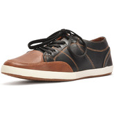 Reservoir Shoes  Sneakers with round toe NICOLA Black / Brown Man Perm  men's Shoes (Trainers) in Black