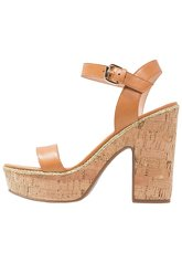 Minelli High heeled sandals naturel