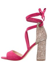 Minelli High heeled sandals fuchsia