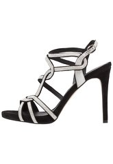 Minelli High heeled sandals noir/argent