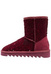 Colors of California Platform boots bordo