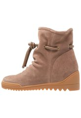 Shoe The Bear LINE Wedge boots dark taupe