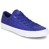 Converse  CHUCK TAYLOR ALL STAR II - OX  men's Shoes (Trainers) in Blue