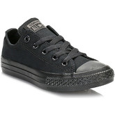Converse  Kids Black Monochrome All Star Low Trainers  men's Shoes (Trainers) in Black
