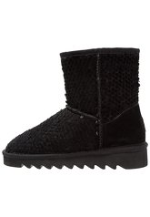 Colors of California Platform boots black