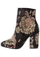 ALDO FIERY High heeled ankle boots black/multicolor