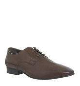 Office Hardwork Derby BROWN LEATHER