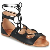 Moony Mood  GUALDIME  women's Sandals in Black
