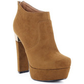 Zaza Pata  Ankel-Boots LUNA Camel  women's Boots in Brown