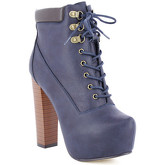 Zaza Pata  Ankel-Boots LALY Navy blue  women's Boots in Blue