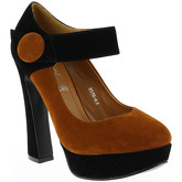 Milanelli  Pumps EMMA Camel  women's Court Shoes in Brown