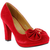 Zaza Pata  Pumps SHANA Red  women's Court Shoes in Red