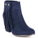 Zaza Pata  Ankel-Boots HELOISE Navy blue  women's Boots in Blue