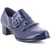 Zaza Pata  Mocassin LEANE Navy blue  women's Loafers / Casual Shoes in Blue