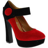 Milanelli  Pumps EMMA Red  women's Court Shoes in Red