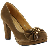 Zaza Pata  Pumps SHANA Taupe  women's Court Shoes in Beige