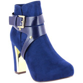 Zaza Pata  Ankel-Boots NINON Electric blue  women's Boots in Blue