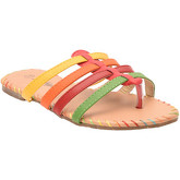 Zonkepai   Sunshine  Flip-flops COLOR Pink / Green  women's Flip flops / Sandals (Shoes) in Pink