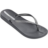 Ipanema  Mesh II Flip Flops in Grey   Silver 81927  women's Flip flops / Sandals (Shoes) in Orange