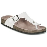 Les P'tites Bombes  ZELDA  women's Mules / Casual Shoes in White
