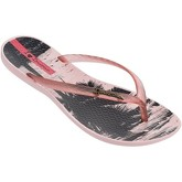 Ipanema  Wave Tropical Flip Flops in Peach 82119  women's Flip flops / Sandals (Shoes) in Orange