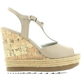 Apepazza  FRT01 Wedge sandals Women Taupe  women's Sandals in Grey