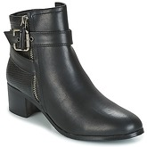 Moony Mood  GELKO  women's Low Ankle Boots in Black