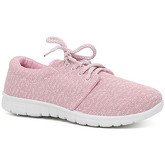London Rag  Women's Pink Sneakers  women's Shoes (Trainers) in Pink
