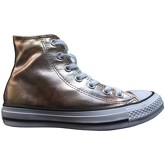 Converse  All Star Hi Washed Metallic  women's Shoes (High-top Trainers) in Silver