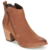Dune  PONTOON  women's Low Ankle Boots in Brown