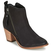 Dune  PONTOON  women's Low Ankle Boots in Black