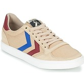 Hummel  SLIMMER STADIL DUO CANVAS LOW  women's Shoes (Trainers) in Beige