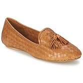 Dune  LASSO  women's Loafers / Casual Shoes in Brown