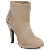 Apepazza  RUMBA  women's Low Ankle Boots in Beige