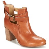 Casual Attitude  SEROLA  women's Low Ankle Boots in Brown