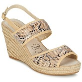 Best Mountain  MAROVE  women's Sandals in Beige