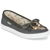 Victoria  MOCASIN LONA/TEJIDO ETNICO  women's Loafers / Casual Shoes in Grey