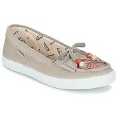 Victoria  MOCASIN LONA/TEJIDO ETNICO  women's Loafers / Casual Shoes in Beige